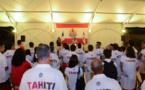 Jeux du Pacifique : les sportifs encouragés par Edouard Fritch