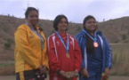 PNG 2015 – « tir au pistolet » : Maeva Darius décroche la première médaille d'or pour le fenua