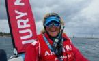 Isabelle Barbeau : « Le rythme s'accélère » au Tour de France à la voile