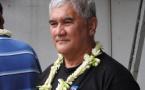 Mahinui Temarii a obtenu la Médaille Grand Or du Travail