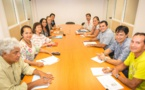 Perliculture : Teva Rohfritsch rencontre les professionnels de la TPAFP