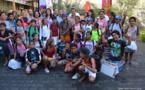 30 enfants de Papeete ont reçu leurs nouveaux cartables ce mardi matin