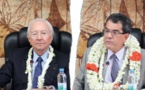 Tahoera'a : Édouard Fritch conteste la présidence de Gaston Flosse