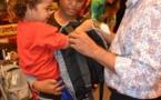 Pirae : 40 enfants ont reçu leur nouveau cartable offert par la mairie