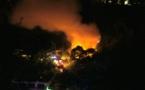 Trois voitures calcinées dans un incendie à Vetea
