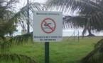 A Moorea, la baignade est interdite passe Taotaha