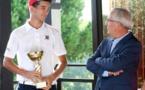 Golf : Théo Carlotti termine deuxième à Massane-Montpellier