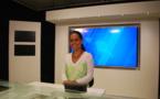 Un nouveau plateau pour les infos de TNTV