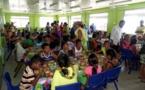 Makemo : Inauguration de la cantine communale de l'école primaire Arikitamiro