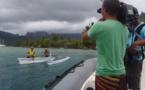 Un documentaire sur le réchauffement climatique, tourné à Moorea.