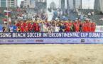Beach soccer : Les Tiki Toa s'inclinent 5-2 en finale face aux Russes