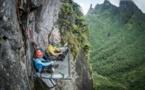 Découvrez la vidéo de deux alpinistes américains sur la face sud du piton de Pumaka
