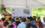 Bora Bora : la première pierre du futur collège/lycée est posée