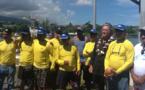 Trois plaisanciers secourus par la FEPSM entre Tahiti et Moorea