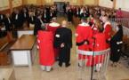 Minute de silence au palais de justice de Papeete