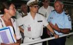 Le haut commissaire à la rencontre des agents en charge de la sécurité aéroportuaire