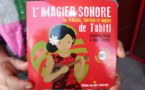 Le 1er imagier sonore de Tahiti disponible au salon du livre