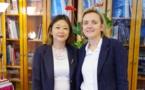 Paris : La déléguée de la Polynésie Française a rencontré Madame le maire du 5ème arrondissement