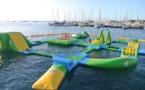 Un nouveau parc à bouées gonflables a été inauguré hier à Punaauia