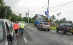 Papara : La rénovation partielle de l'éclairage public a démarré ce matin