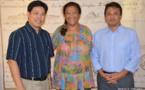 Les sénateurs polynésiens donnent 806 275 Fcfp en faveur des épiceries solidaires