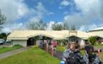 Hiva Oa : Une trentaine de passagers d'Air Tahiti bloqués à l'aéroport cet après-midi