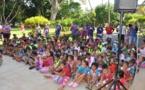Journée récréative pour 400 enfants de Tahiti