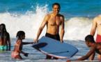 Obama commence ses vacances en famille à Hawaii