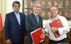 Le protocole d'accord pour Tahiti Mahana Beach est signé