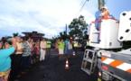 Papara : inauguration de l'éclairage