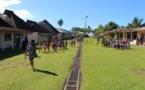 Teva i Uta : Exercice tsunami hier à l'école Muturea