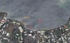 Baie du Taaone : l'eau de baignade est mauvaise dans le panache de pollution