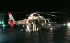 L'héliport de l'hôpital du Taaone utilisé pour la première fois en condition réelle