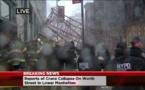 Une énorme grue s'effondre à New York et fait un mort