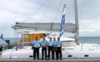 """Les gendarmes en """"mission catamaran"""" aux Tuamotu"""