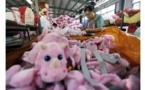 En Chine, la production industrielle continue de s'essouffler