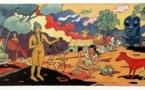 Le héros Luc Leroi de retour à Tahiti (bande dessinée)