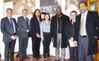 Jean-Marc Mormeck rencontre la délégation polynésienne