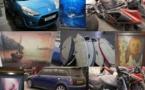 Surfs, motos, voitures ou tableaux vendus aux enchères