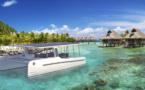 Un catamaran électrique à Raiatea en septembre