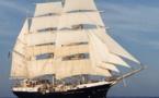 Le trois mâts Tenacious en escale à Tahiti jusqu'au 1er mai