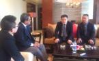 Le président du Pays rencontre les responsables de la China Development Bank à Shanghai