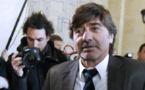 L'ancien numéro 2 de la PJ de Lyon, Michel Neyret, arrive au tribunal correctionnel de Paris, le 2 mai 2016.
