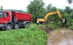 Encore des quartiers inondés à Mataiea