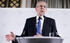 Autriche: un écologiste élu président, l'extrême droite battue de peu