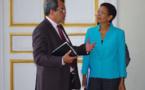Fritch reçu au ministère des Outre-mer par Pau-Langevin