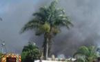 Mahina : une maison en feu dans le quartier Butscher à Matavai