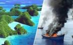 Pêche illégale aux Palaos: un navire incendié pour l'exemple