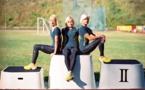 Des triplées estoniennes courent pour l'or aux JO de Rio