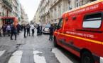 Des véhicules de pompiers sont garés près du Parc Monceau à Paris le 28 mai 2016, après que la foudre a blessé une dizaine de personnes 2/3 © AFP, MATTHIEU ALEXANDRE